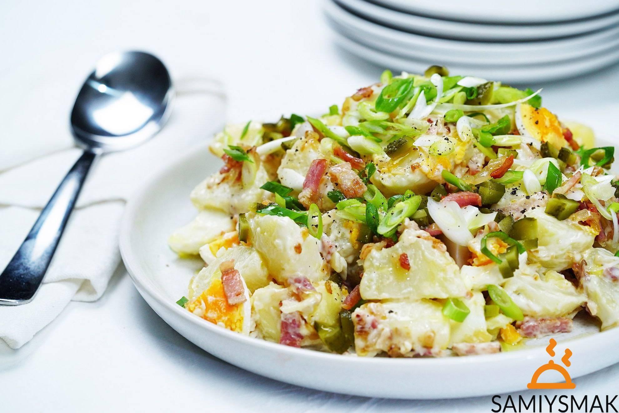 Классическая немецкая кухня: картофельный салат