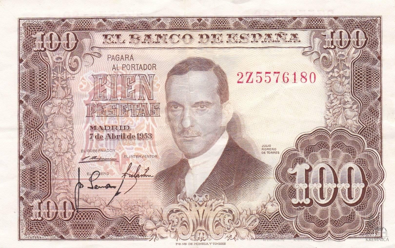 Какие деньги в испании