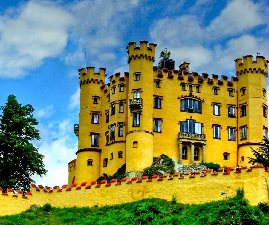 Хоэншвангау, германия (бавария). замок внутри, посещение, фото, видео, официальный сайт, как добраться, отели рядом — туристер.ру