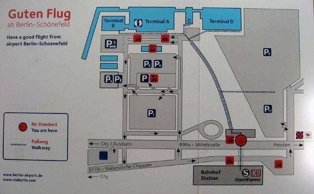 Как добраться из аэропорта тегель в берлин - все способы
