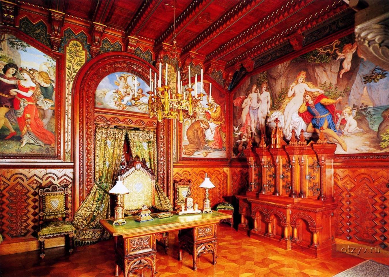 Замок хоэншвангау – «сказочная крепость» в горах германии