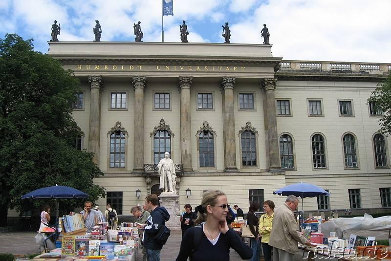 Берлинский университет имени гумбольдта — википедия