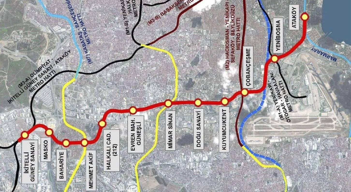 Как лучше добраться до центра стамбула из аэропорта ататюрк