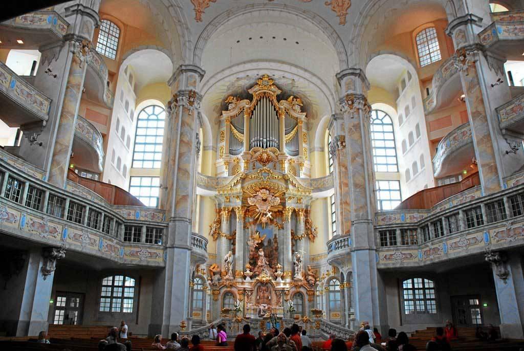 Церковь frauenkirche (дрезден). фрауэнкирхе (церковь богородицы): описание, история
