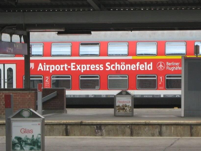 Как добраться из аэропорта шёнефельд до берлина