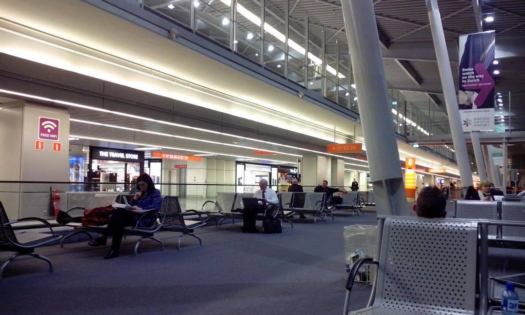 Аэропорт фредерик шопен