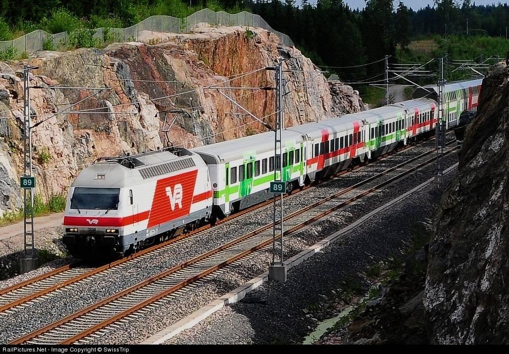 Железнодорожный транспорт в финляндии — википедия
