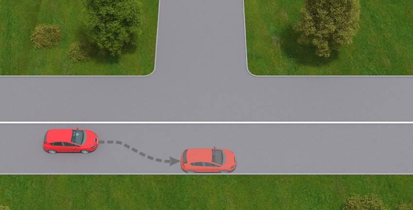 Вечные споры о том, можно ли парковаться на полукруглой разметке