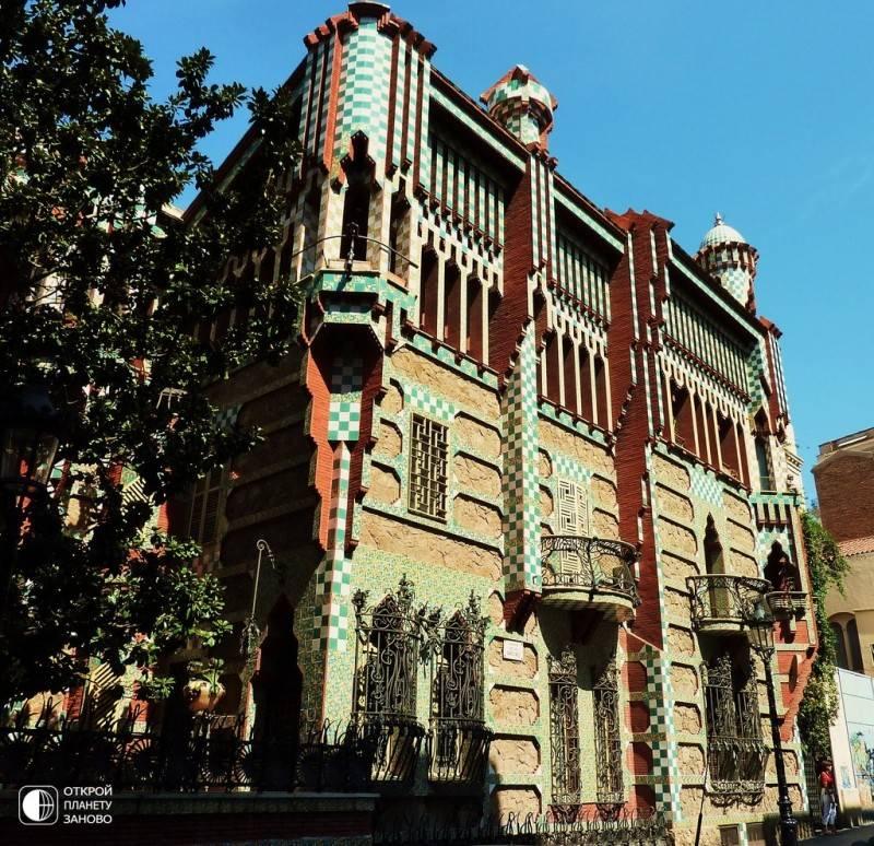 Необыкновенная архитектура гауди в барселоне - барселона тм