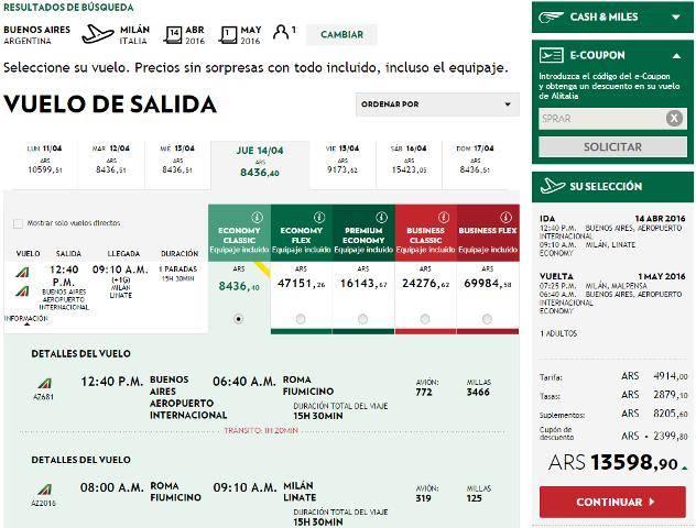 Алиталия  — авиабилеты, сайт, онлайн регистрация, багаж — alitalia.