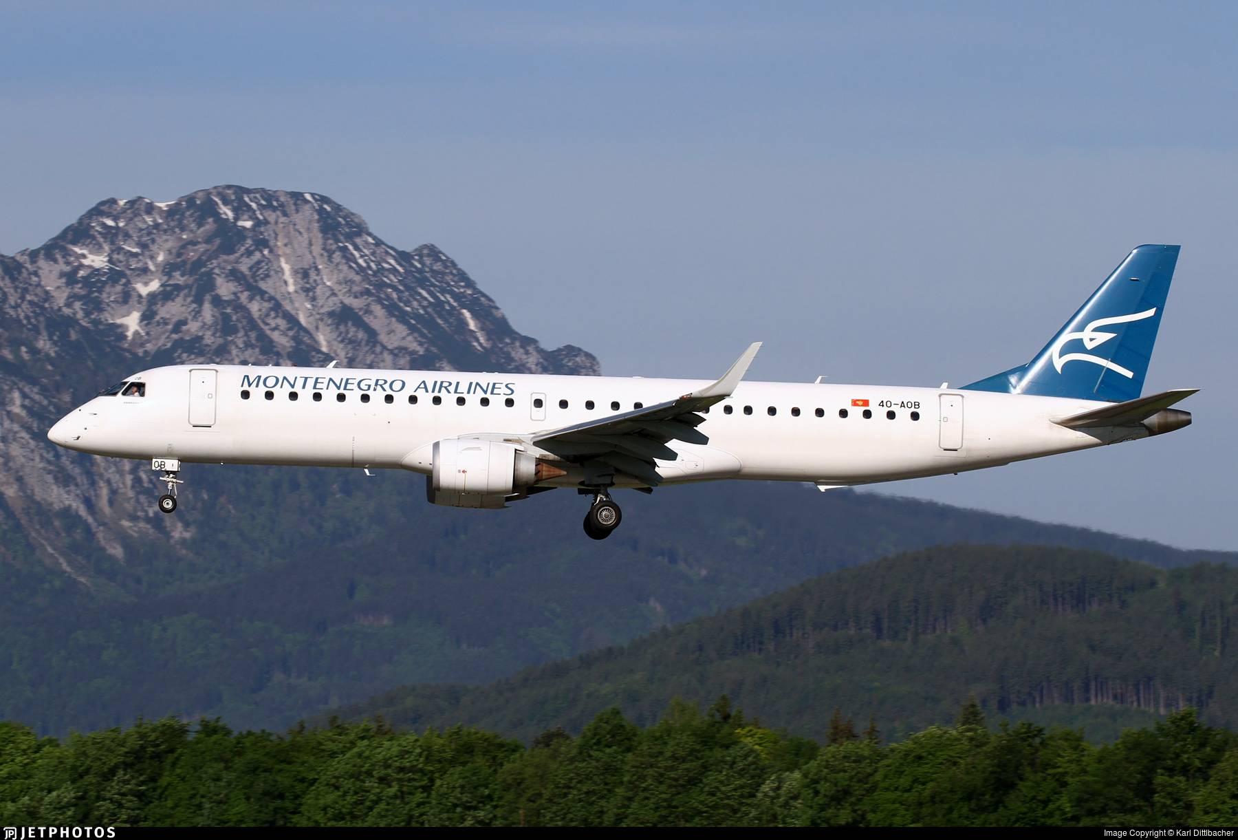 Авиакомпания montenegro airlines (монтенегро эйрлайнз)