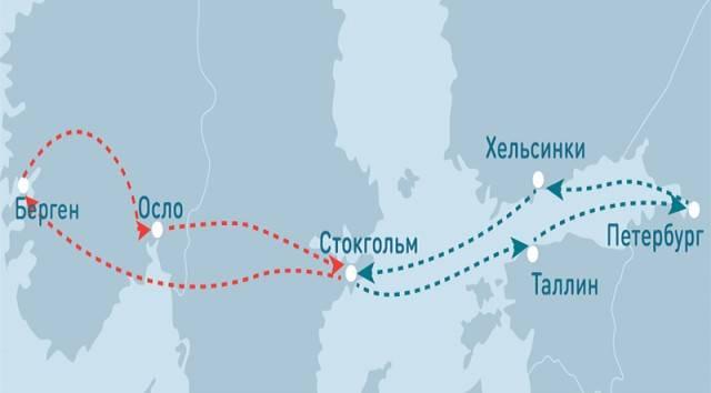 Скандинавия : новогодние круизы на паромах в скандинавию на новый год 2021 от туроператора нисса-тур