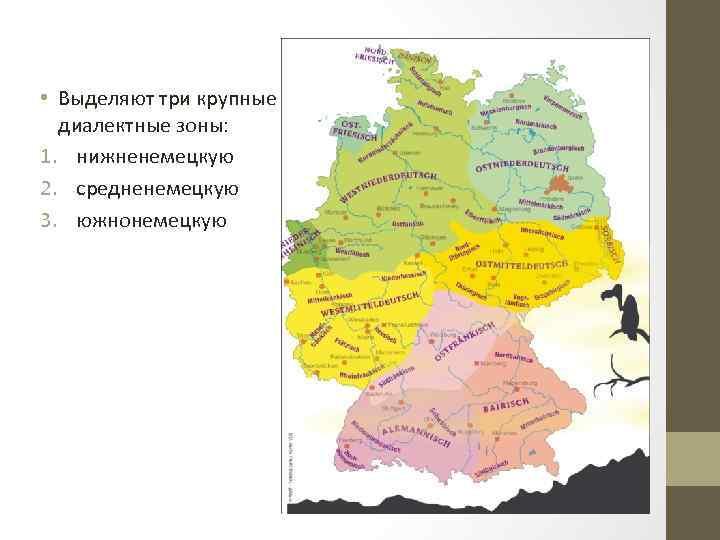 Диалекты немецкого языка: классификация и примеры