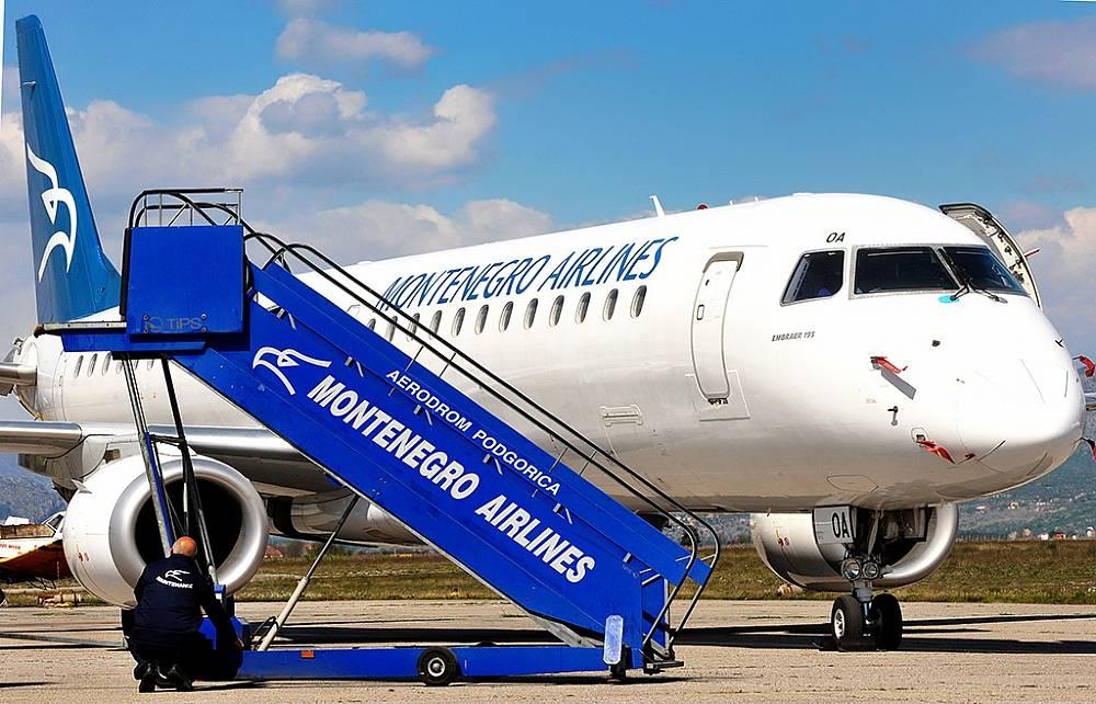 Montenegro airlines | frankfurt
