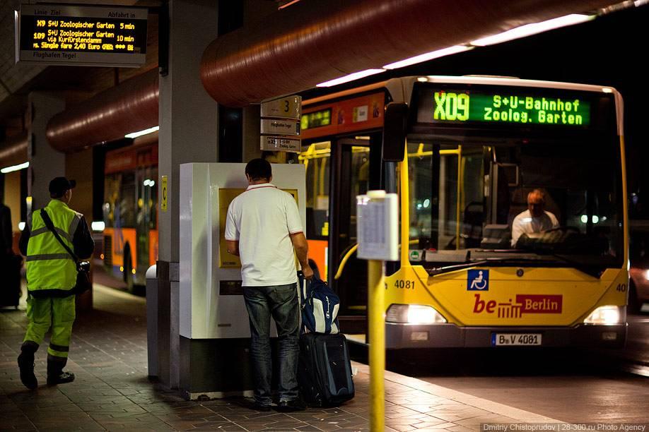 Общественный транспорт берлина - маршруты, типы билетов и цены