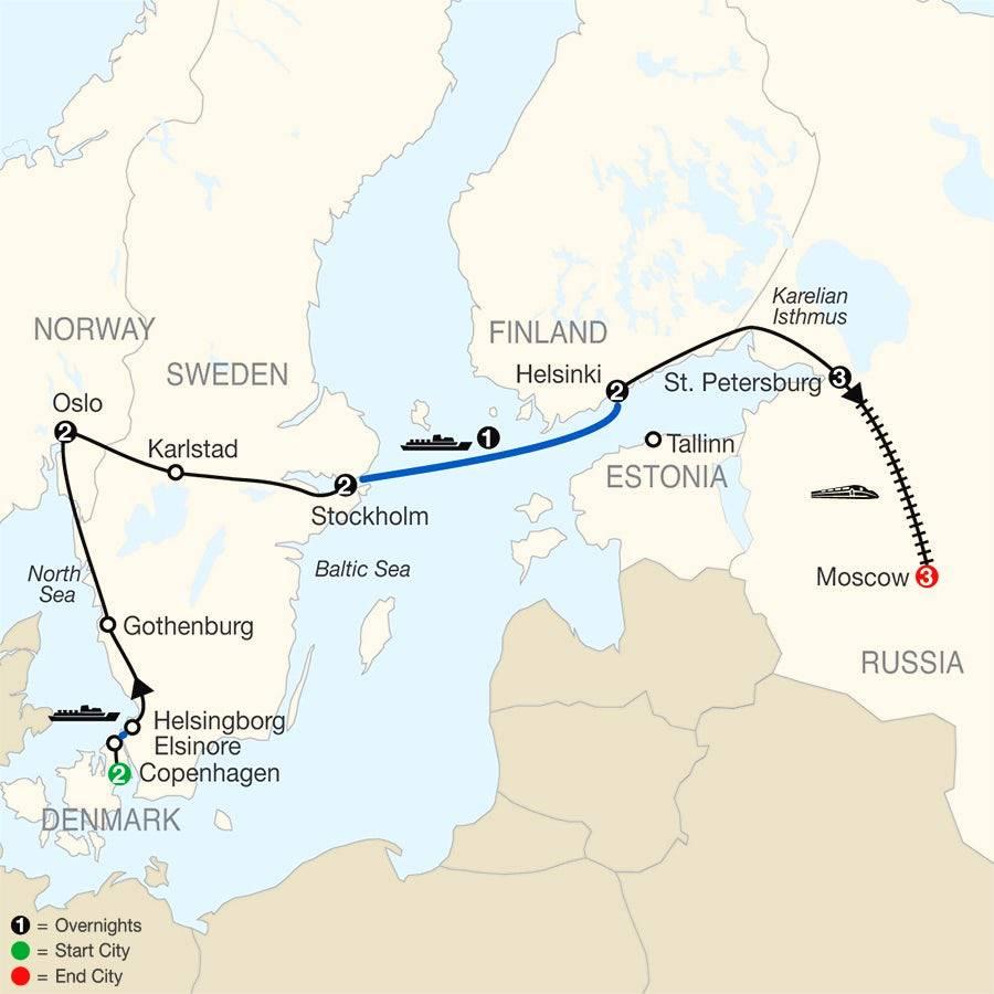 Как добраться из хельсинки в стокгольм