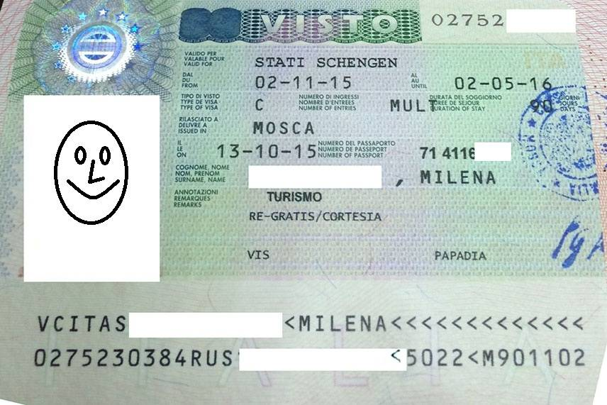 Оформление шенгенской визы в италию в 2021 году для россиян