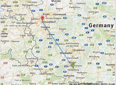 Как добраться из берлина в дюссельдорф