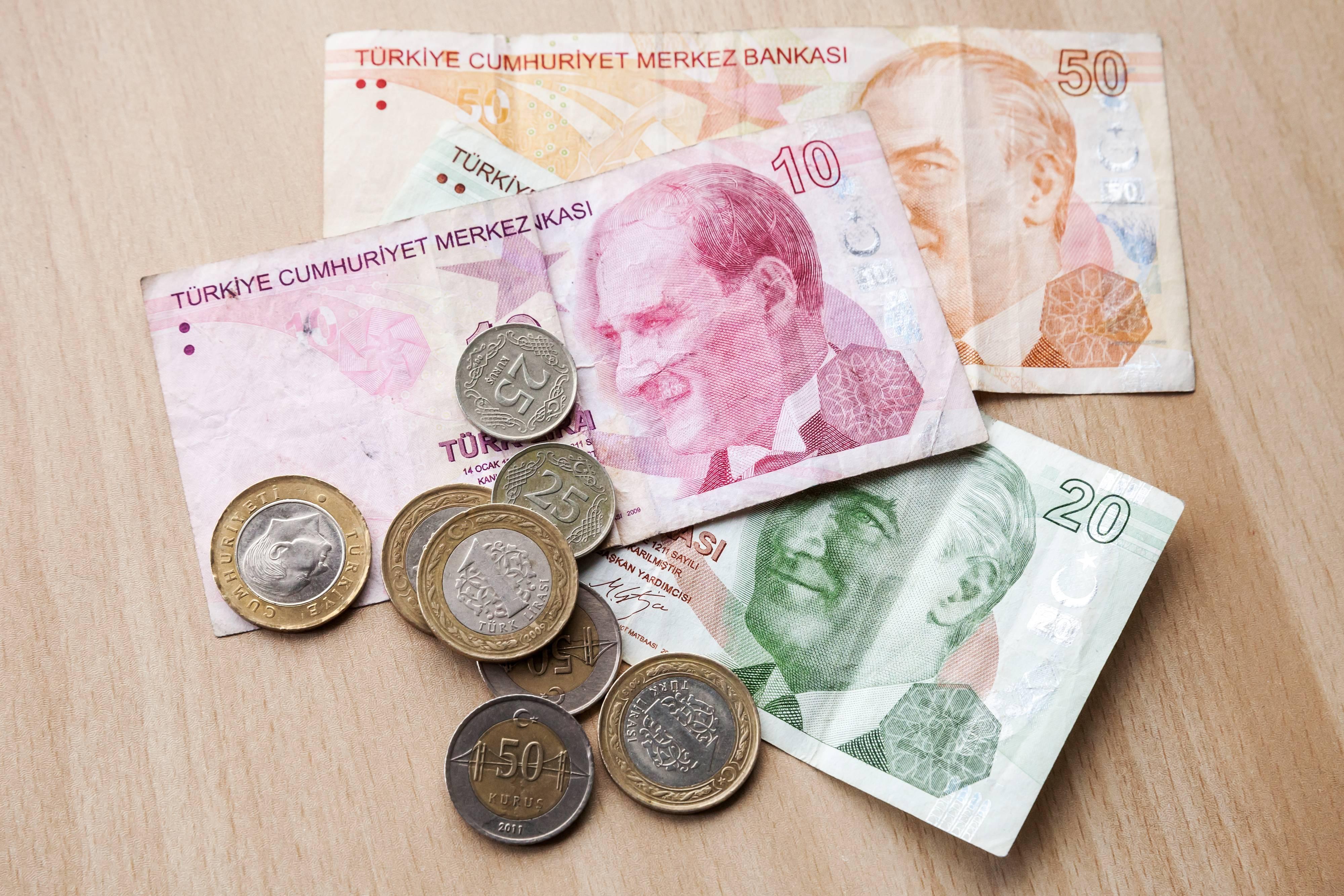 Современная валюта Турции