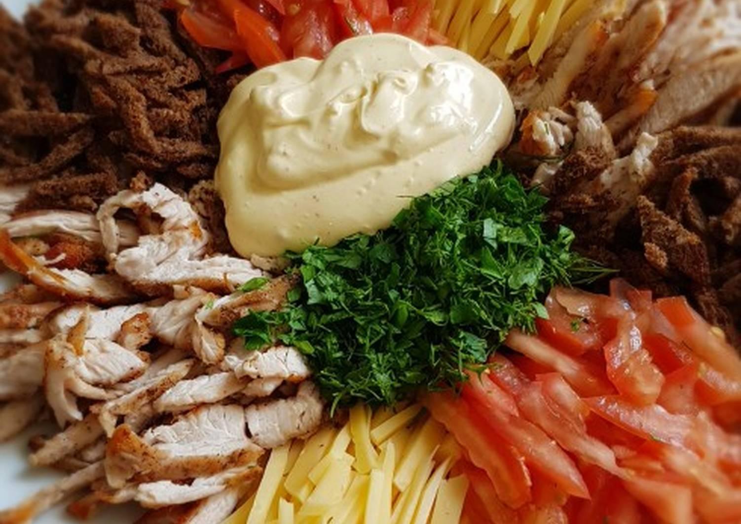 Баварский картофельный салат. салат баварский – уникальная многогранность вкусов салат бавария рецепт