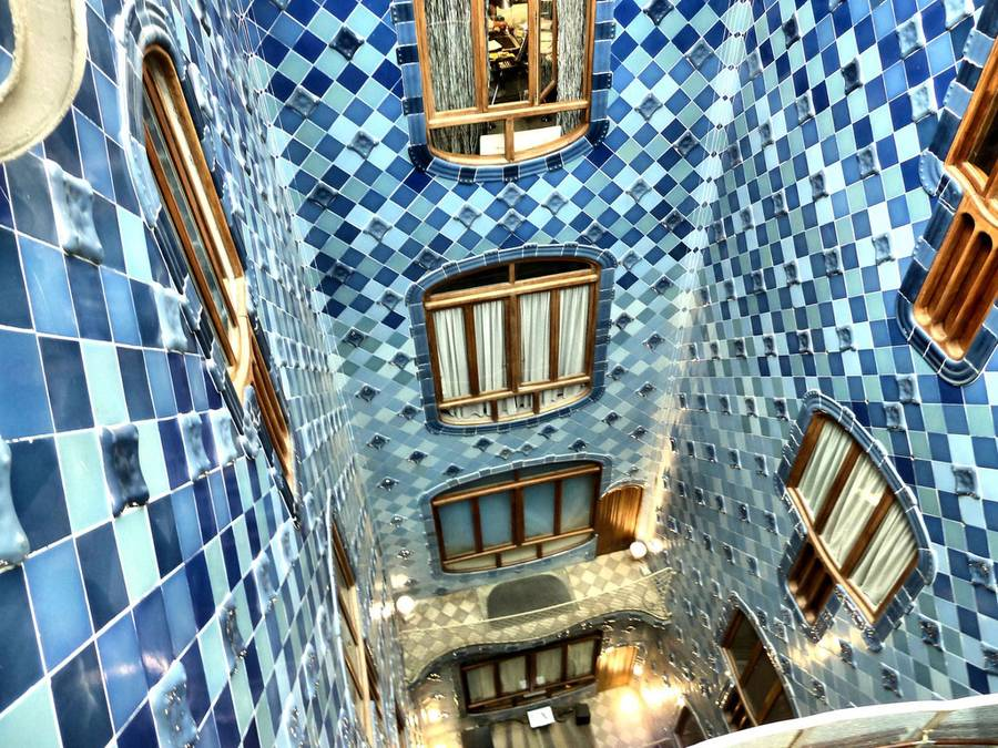 Дом-музей легендарного Гауди в Барселоне