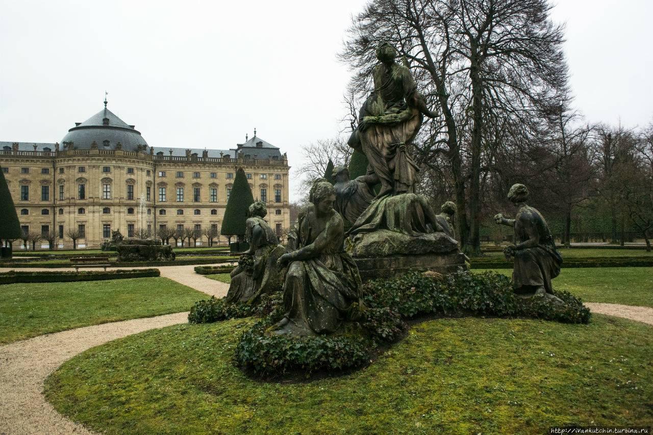 Шедевр эпохи барокко – вюрцбургская резиденция