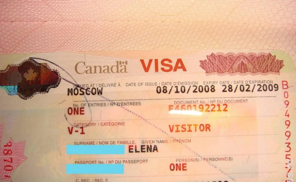 Как оформить визу в канаду по приглашению в 2021 году