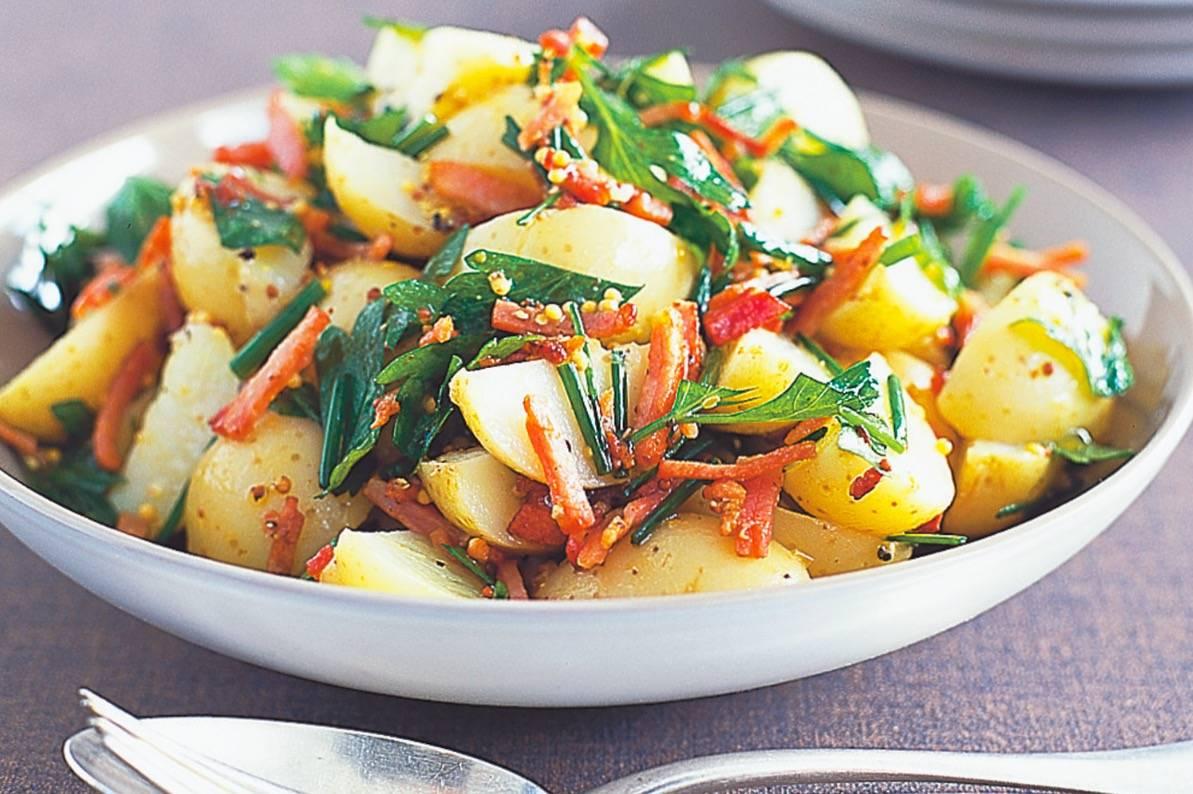 Немецкий картофельный салат — где попробовать и как приготовить дома: рецепты и отзывы