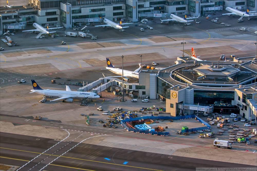 Аэропорт франкфурт-на-майне