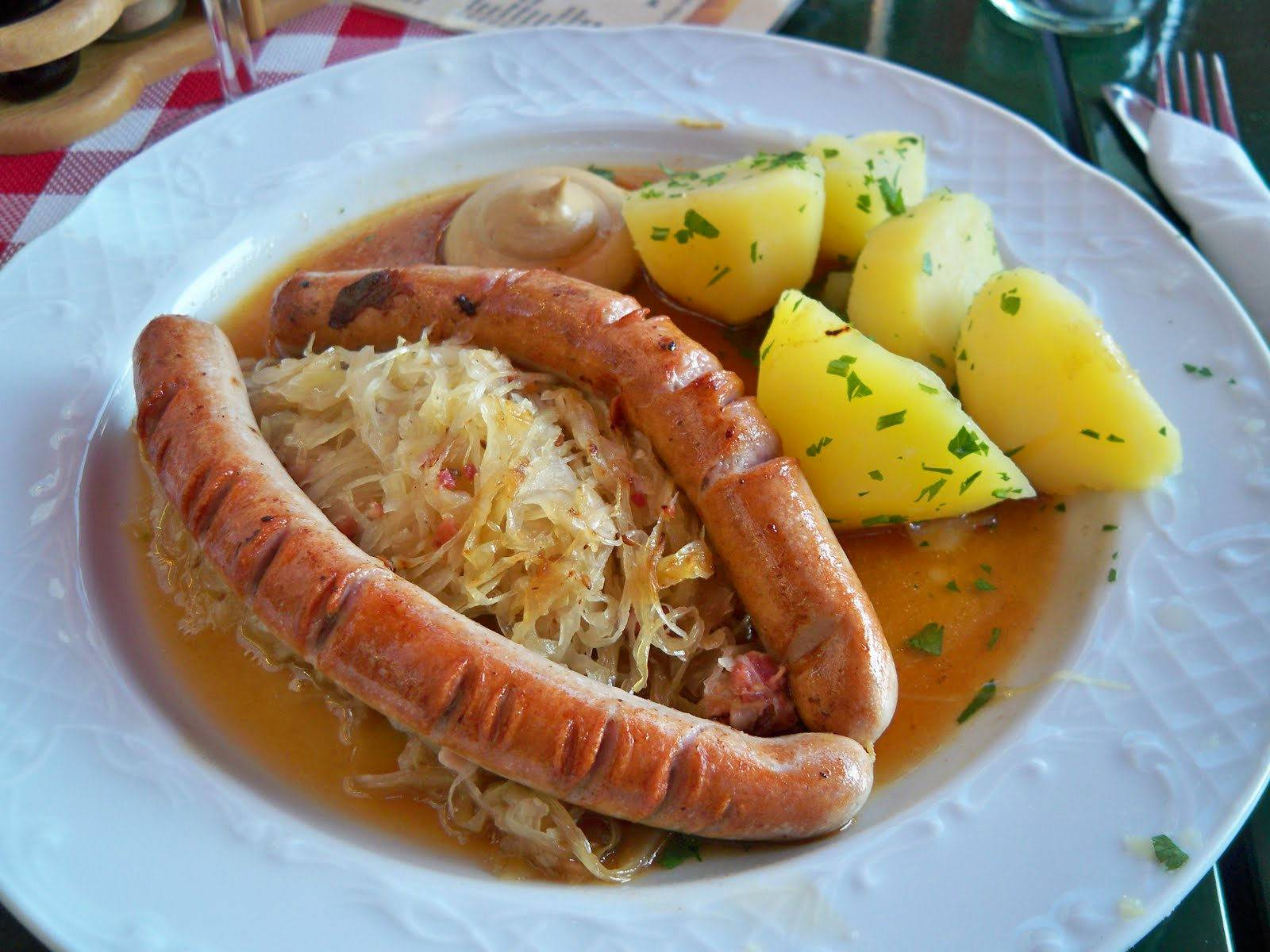 10 главных блюд немецкой кухни