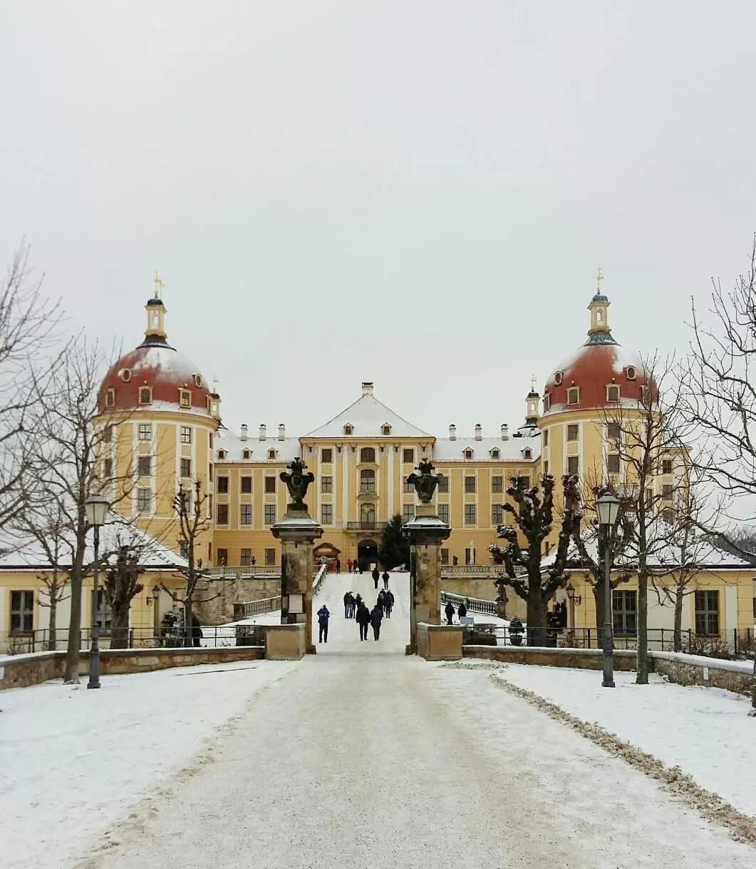 Путешествие в сказку: замок Морицбург в Дрездене