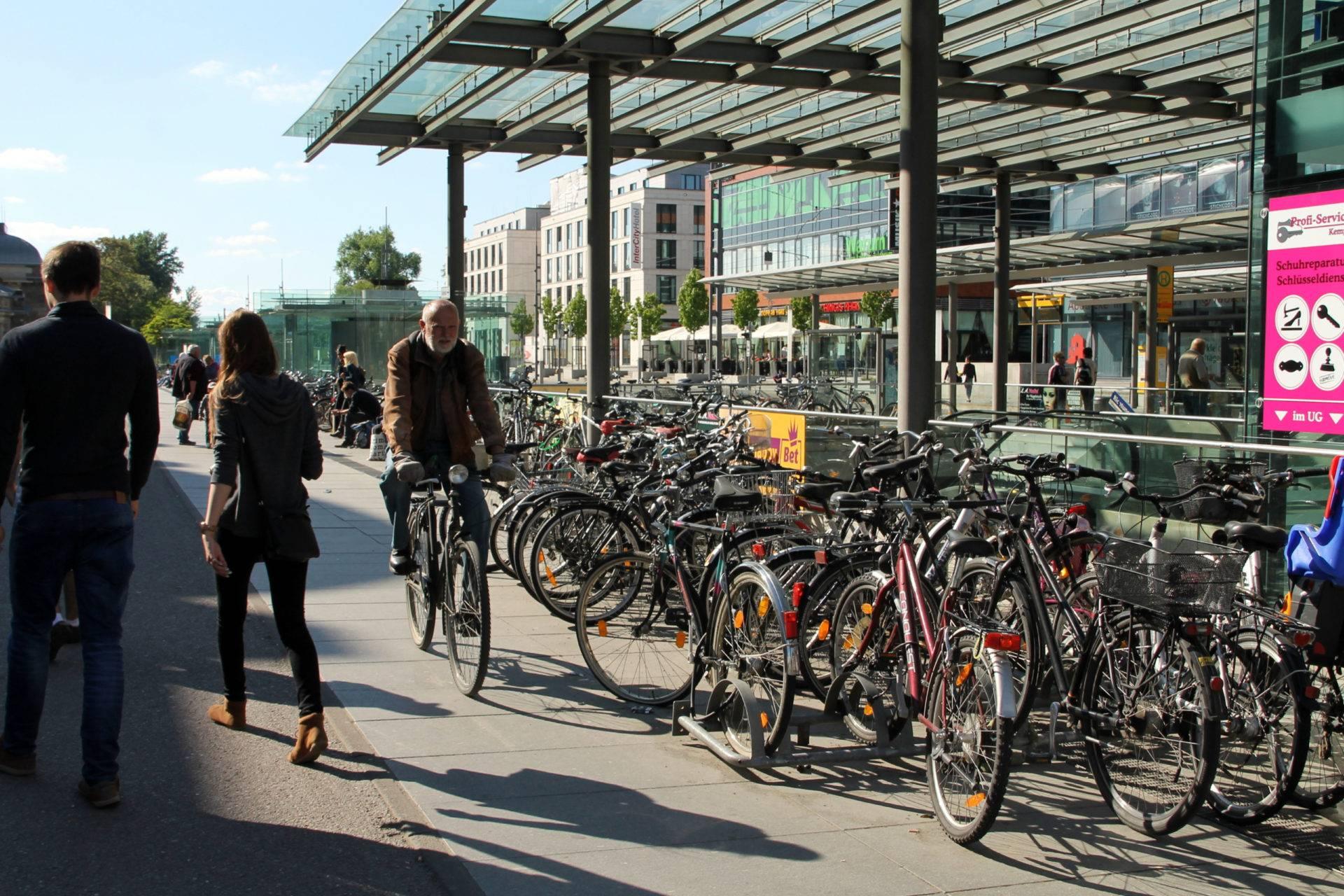 Велосипеды в германии: велосипедные дорожки и парковки