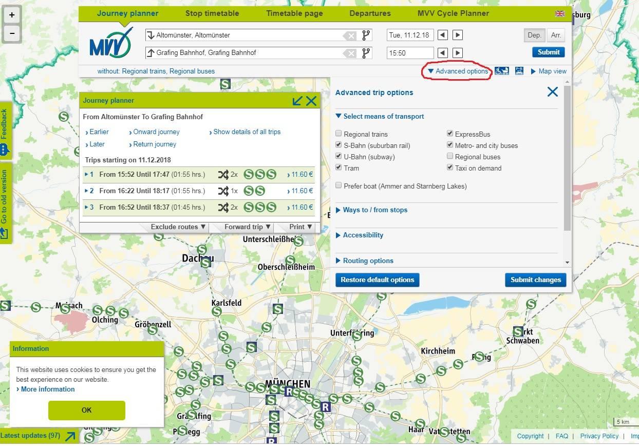 Метро мюнхена – стоимость и виды билетов, карта метро