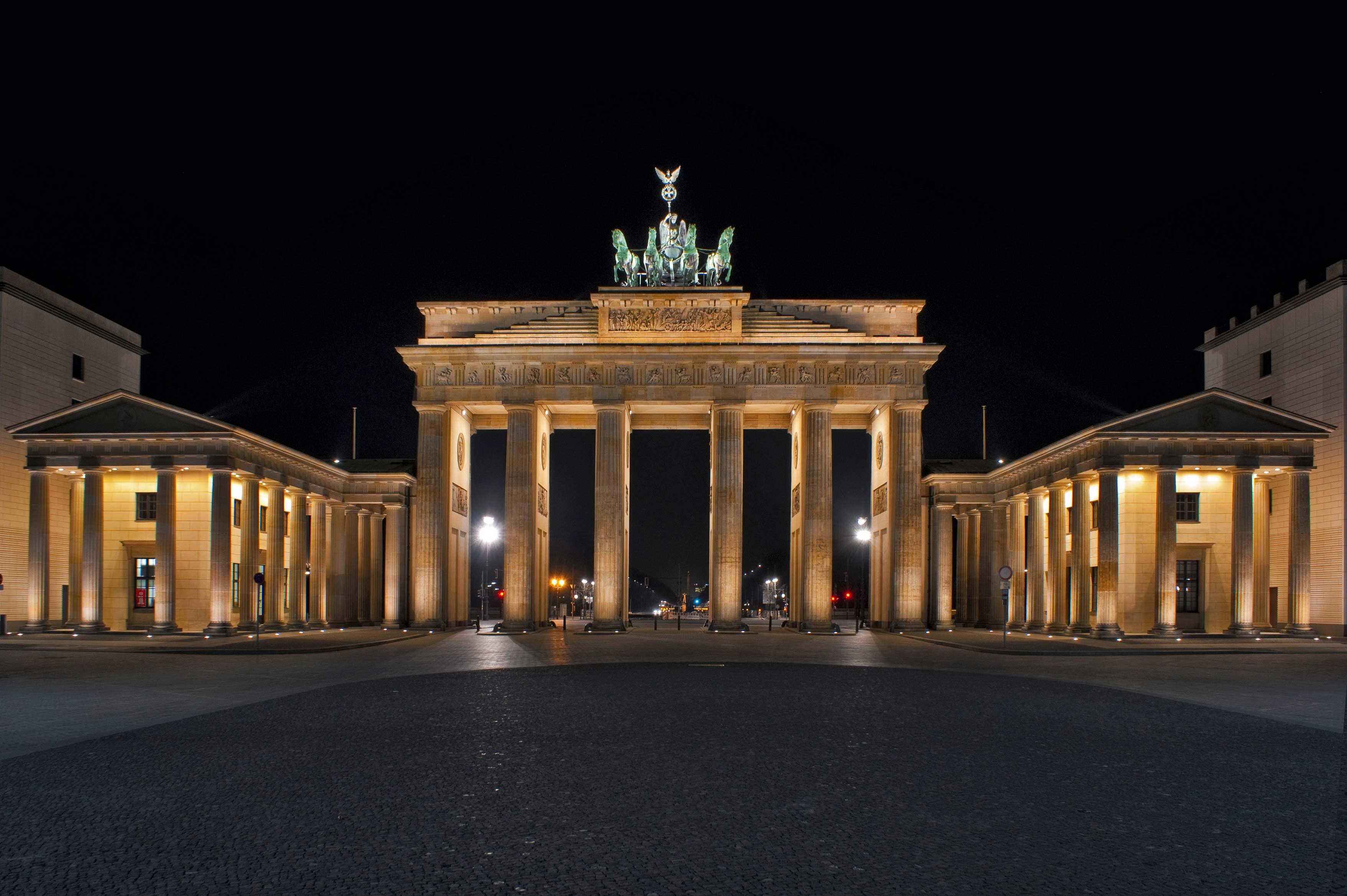 Бранденбургские ворота в берлине - история, фото, описание, как добраться, карта