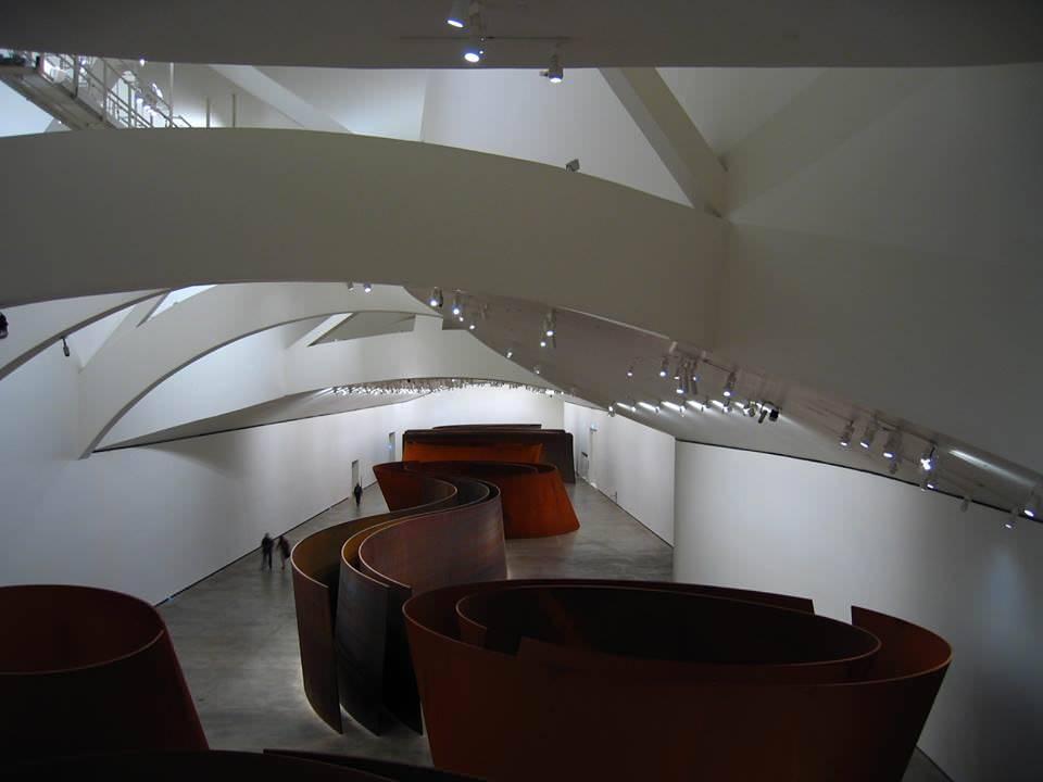 Музей гуггенхайма в бильбао: фото, описание, экспонаты, история создания