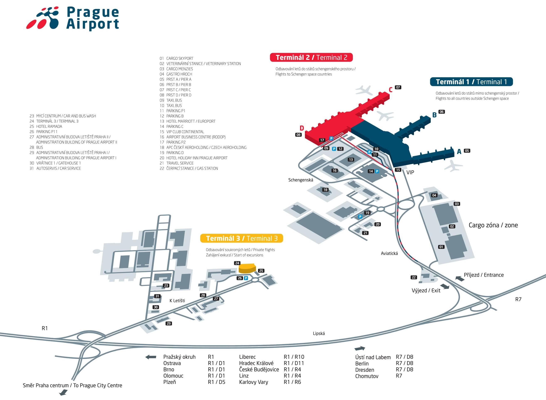 4 способа добраться из аэропорта праги в центр города ᐉ прага лайф