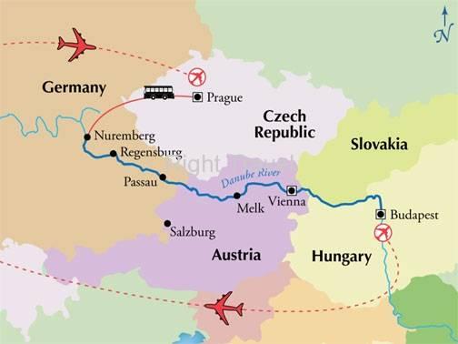 Тур вена - будапешт, экскурсии в вене будапеште