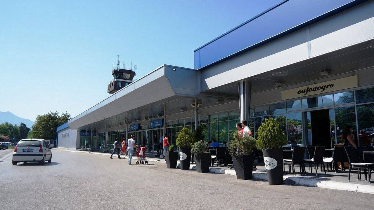 Аэропорты черногории (международные аэропорты, список)
