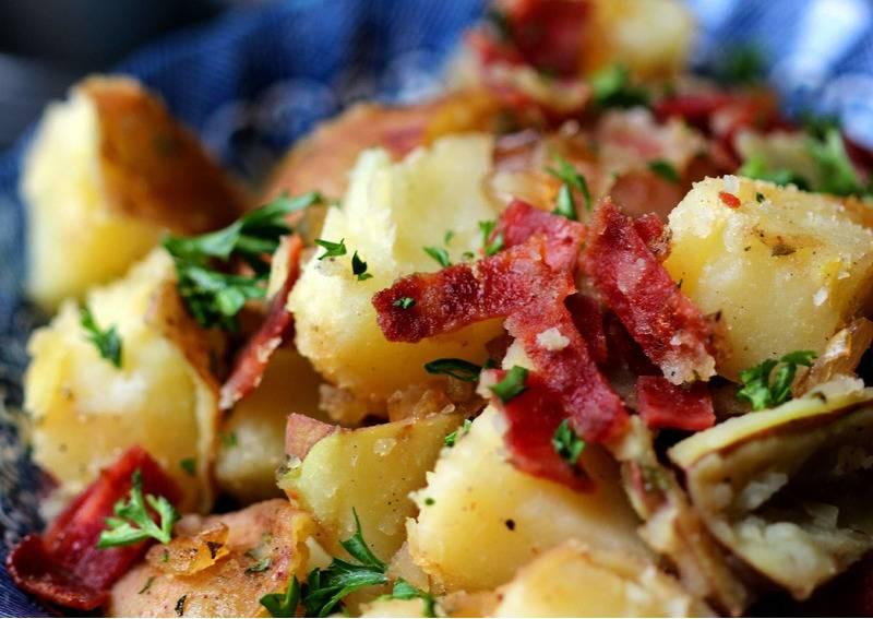 Немецкий картофельный салат – рецепты, которые передаются из поколения в поколение: рецепты с фото и видео