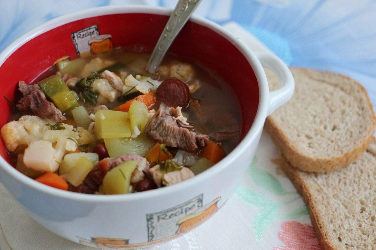 Немецкий классический суп айнтопф. пошаговый рецепт с фото • кушать нет
