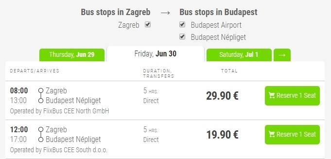 Как быстро и дешево добраться из Праги в Будапешт
