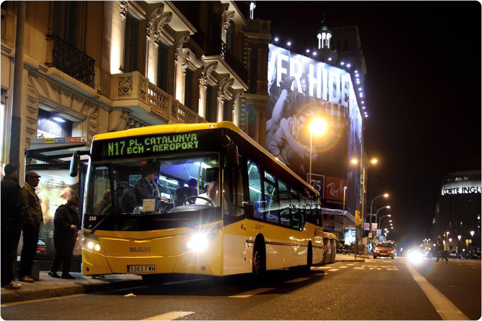 Общественный транспорт в барселоне