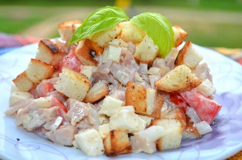 Баварский салат — праздник вкуса на вашем столе! салат баварский – уникальная многогранность вкусов салат баварский с фасолью рецепт.