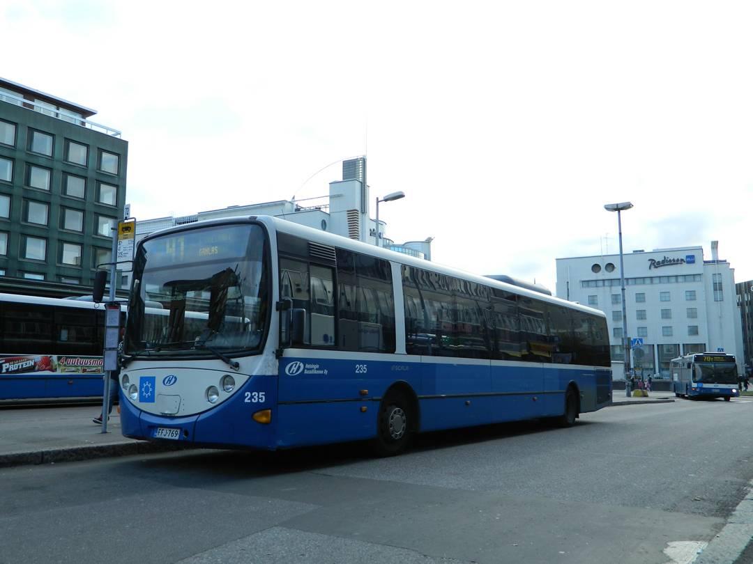 Расписание рейсовых автобусов в финляндию