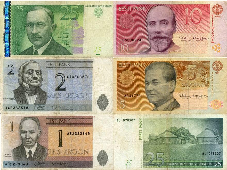 Эстония - 2ая республика (крона) (1991-2010) - каталог монет - ucoin.net