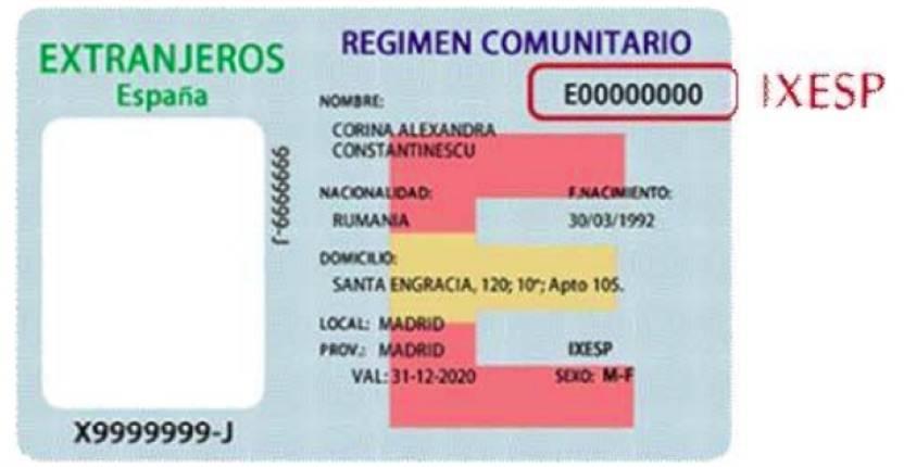 Номери dni, nif, nie та cif в іспанії