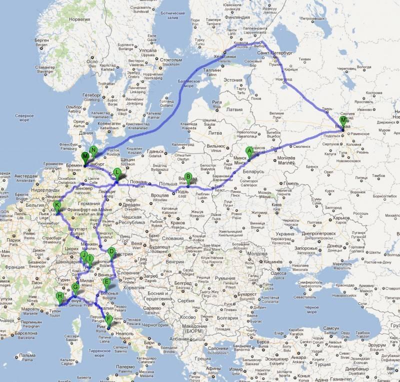 Как спланировать путешествие из москвы в европу на машине: пошаговая инструкция • slow soul