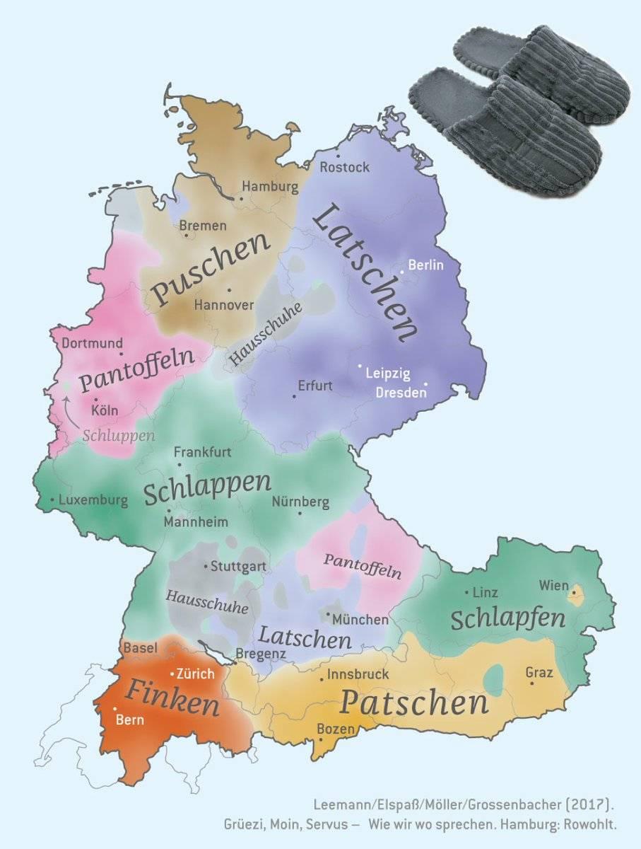 На каком языке говорят в австрии: официальный и диалекты