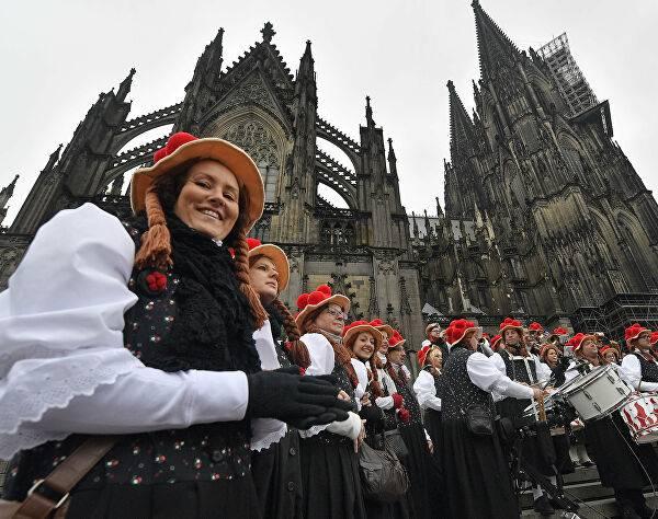 Фашинг — карнавал в германии