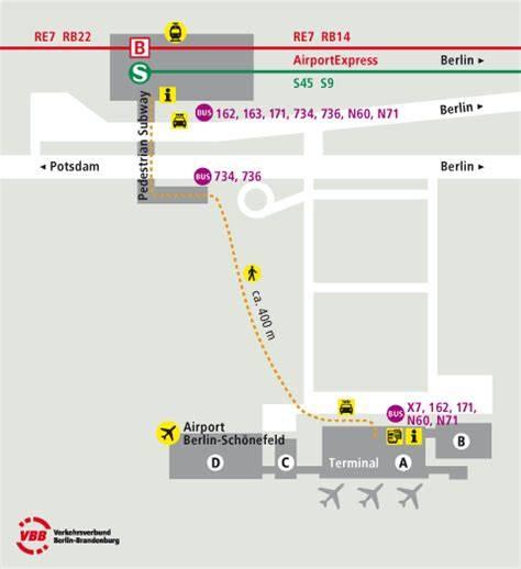 Аэропорт берлина шенефельд и как добраться до города
